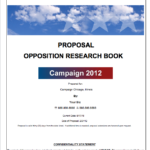 Opposition Research Proposal